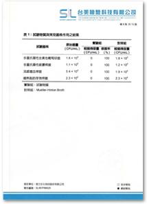 多重抗藥性菌滅菌報告